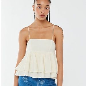 Urban Outfitter Olivia Tiered Babydoll Tank